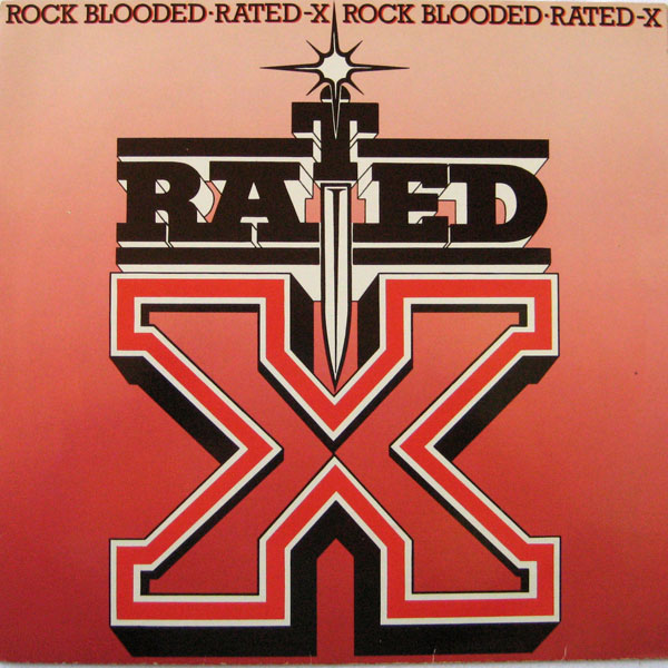 Rated X - Rock Blooded