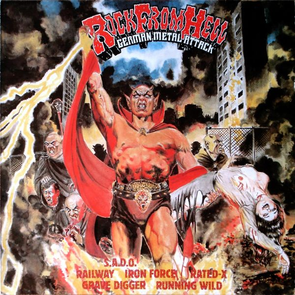 Rock From Hell - German Metal Attack