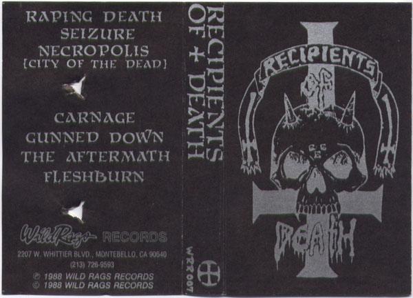 Recipients of Death - Recipients of Death