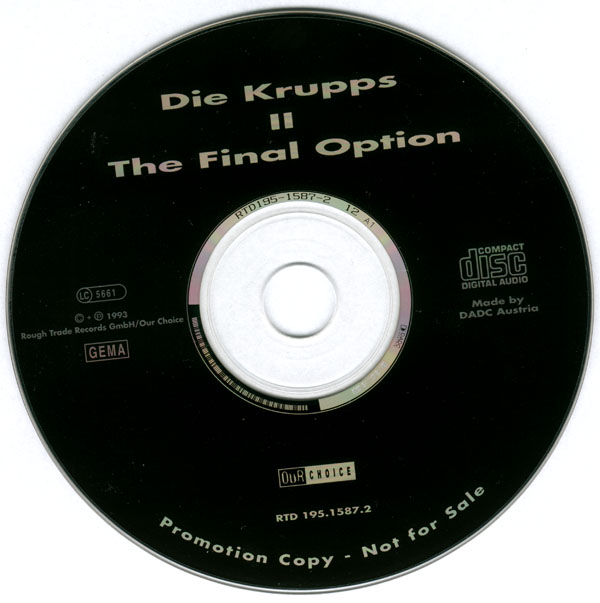 Die Krupps - II - The Final Option