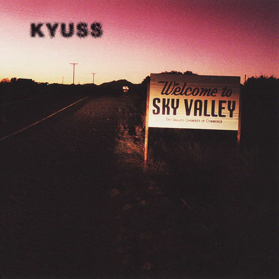 Kyuss, Welcome To Sky Valley, Cover