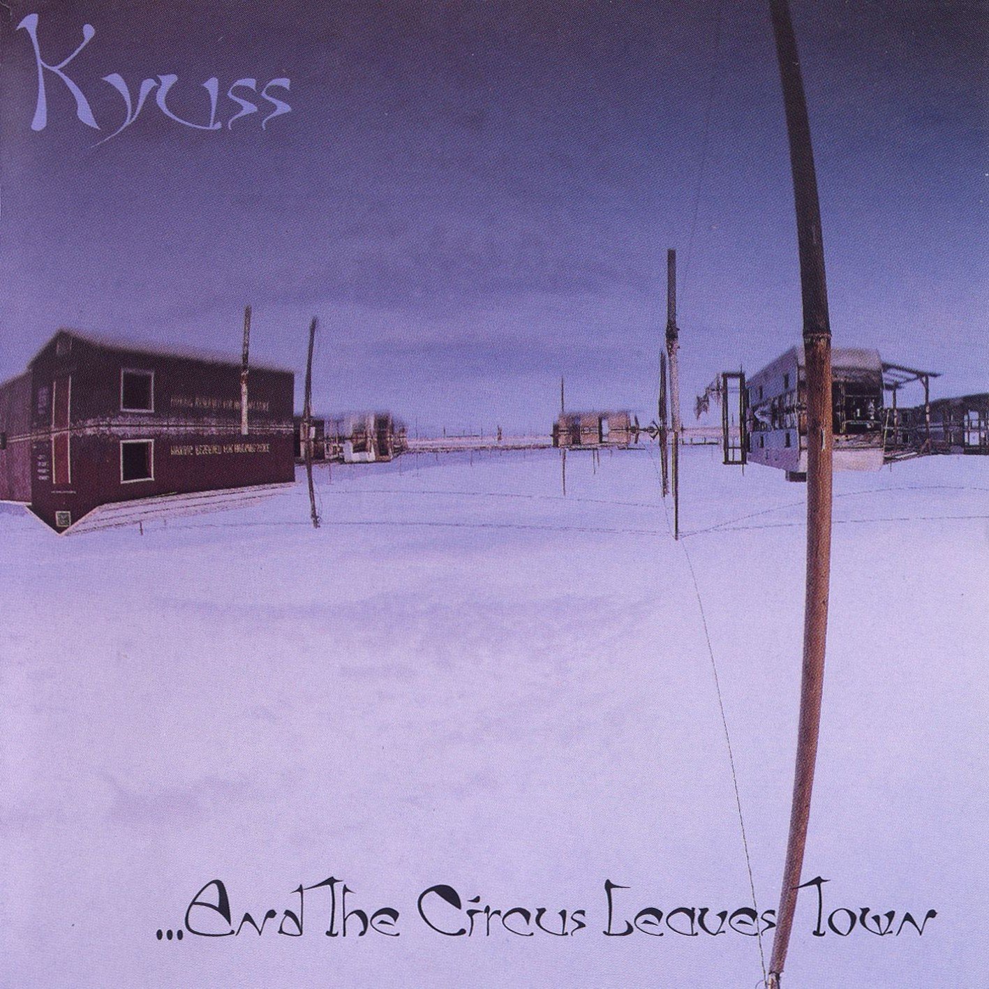 Kyuss, ...And The Circus Leaves Town, Cover