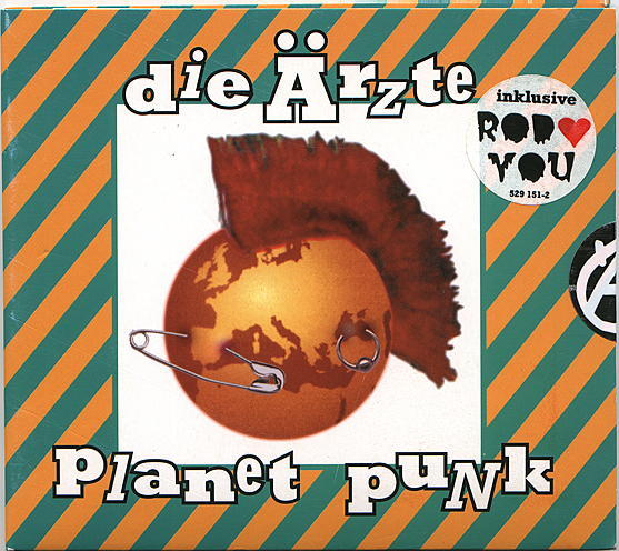 Die Ärzte Planet Punk Cover