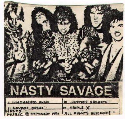 Nasty Savage - Wage Of Mayhem