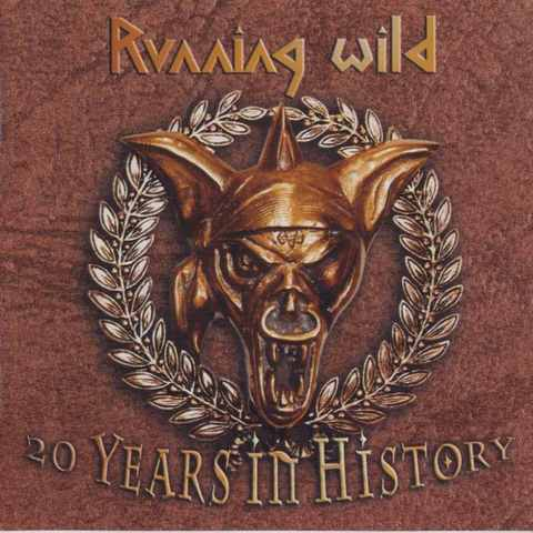 Running Wild 20 Years In History Cover