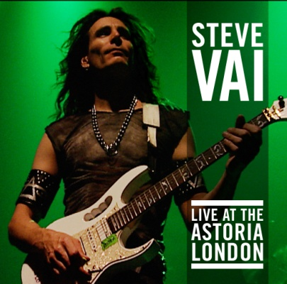 Steve Vai Live At The Astoria London Cover