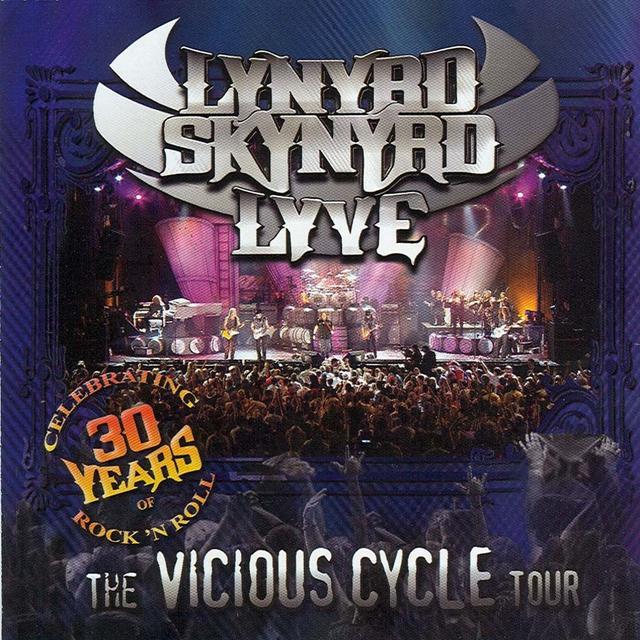 Lynyrd Skynyrd, Lyve, The Vicious Cycle Tour, Cover