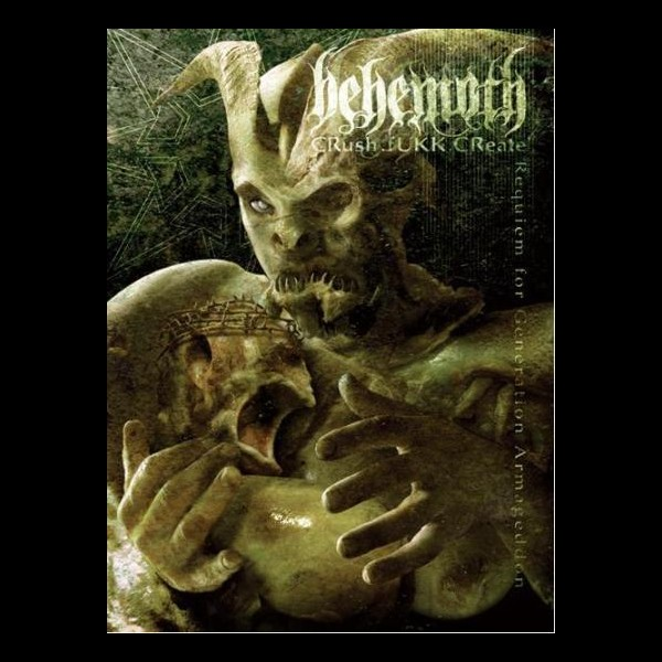 Behemoth Crush Fukk Create Front Cover