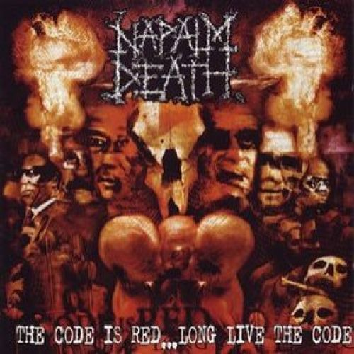 Napalm Death The Code Is Red Cover