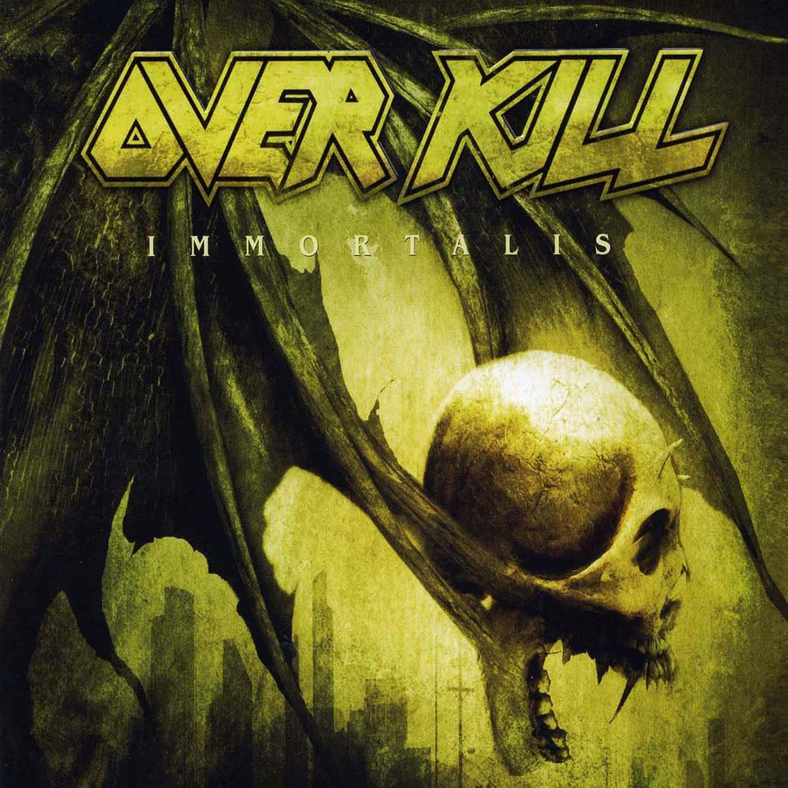 Overkill, Immortalis, Cover