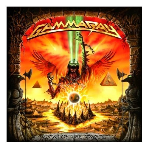 Gamma Ray Land Of The Free II Cover