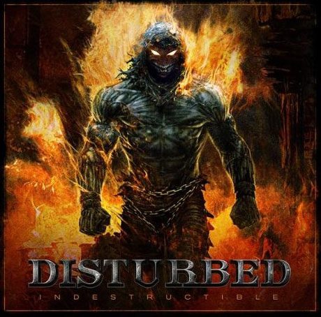 Disturbed, Indestructible Cover