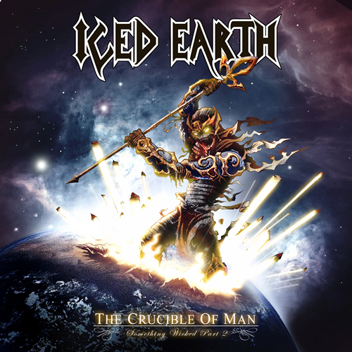Iced Earth The Crucible Of Man Cover