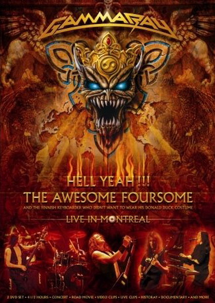 Gamma Ray Hell Yeah DVD-Cover