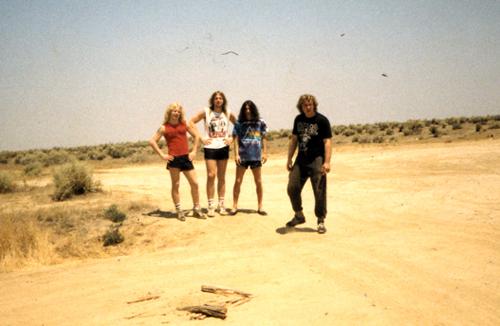 Kreator 1988, Stoney, Jülle, Tritze, Ulsch