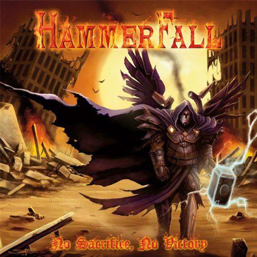 Hammerfall, No Sacrifice, No Victory Cover