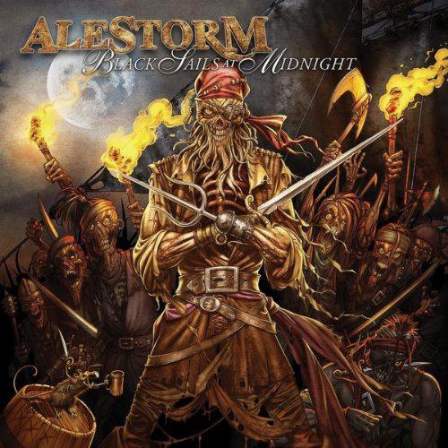 Alestorm, Black Sails At Midnight Cover