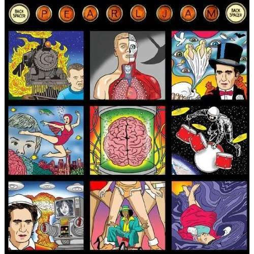 Pearl Jam Backspacer Artwork
