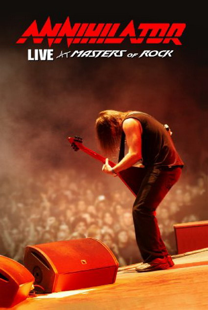 Annihilator Live At Masters Of Rock DVD-Cover