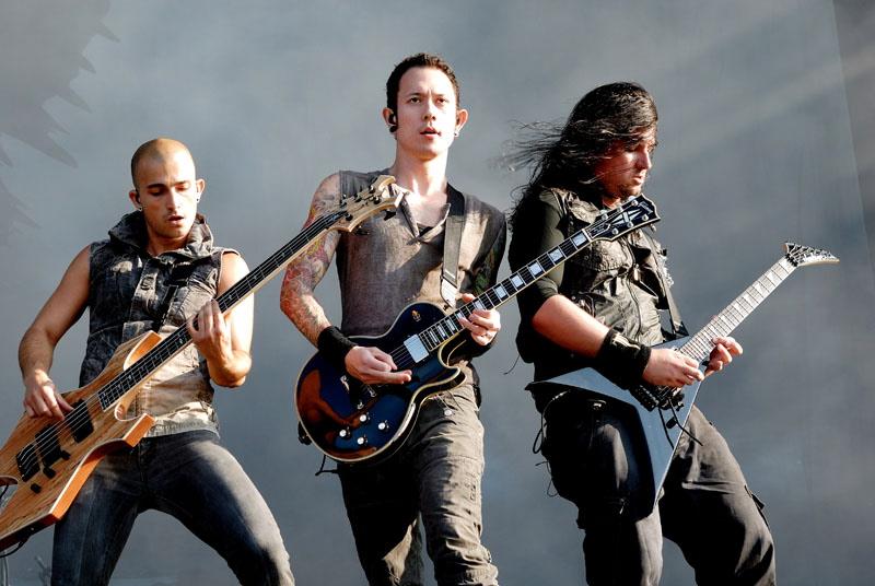 Trivium, live, Wacken 2011