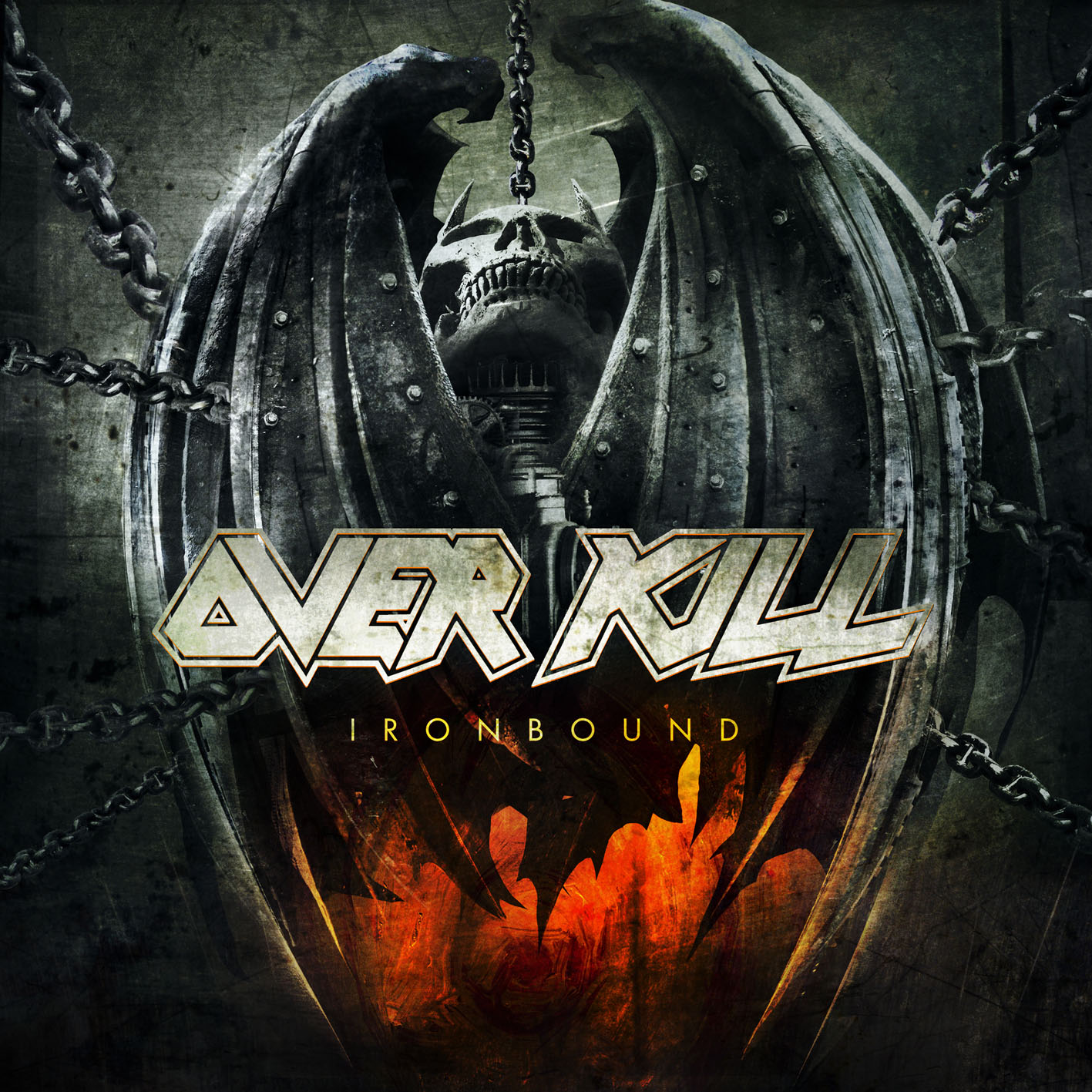 Overkill, Ironbound, Cover