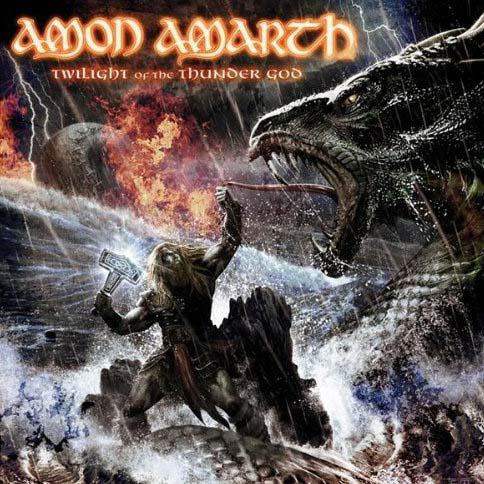 Amon Amarth, Twilight Of The Thunder God Cover