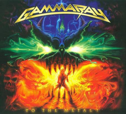 Gamma Ray To The Metal Front Cover