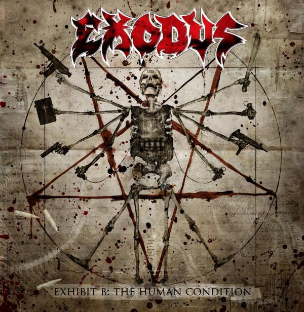Exodus, Exhibit B: The Human Condition, Cover