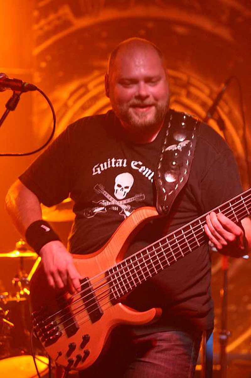 Pagans Mind, live, 05.10.2011 München, Backstage
