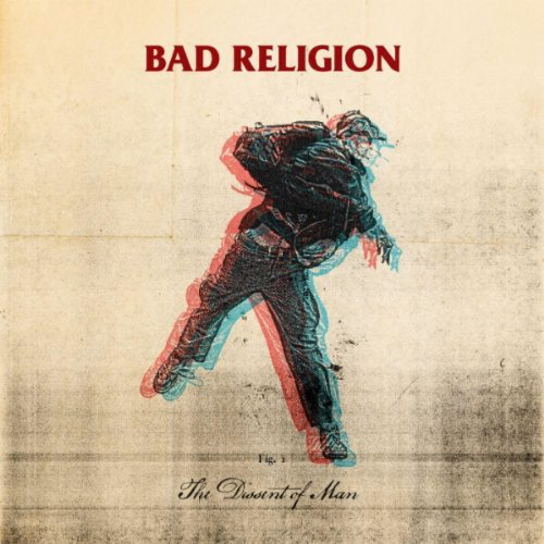 Bad Religion, The Dissent Of Man Cover