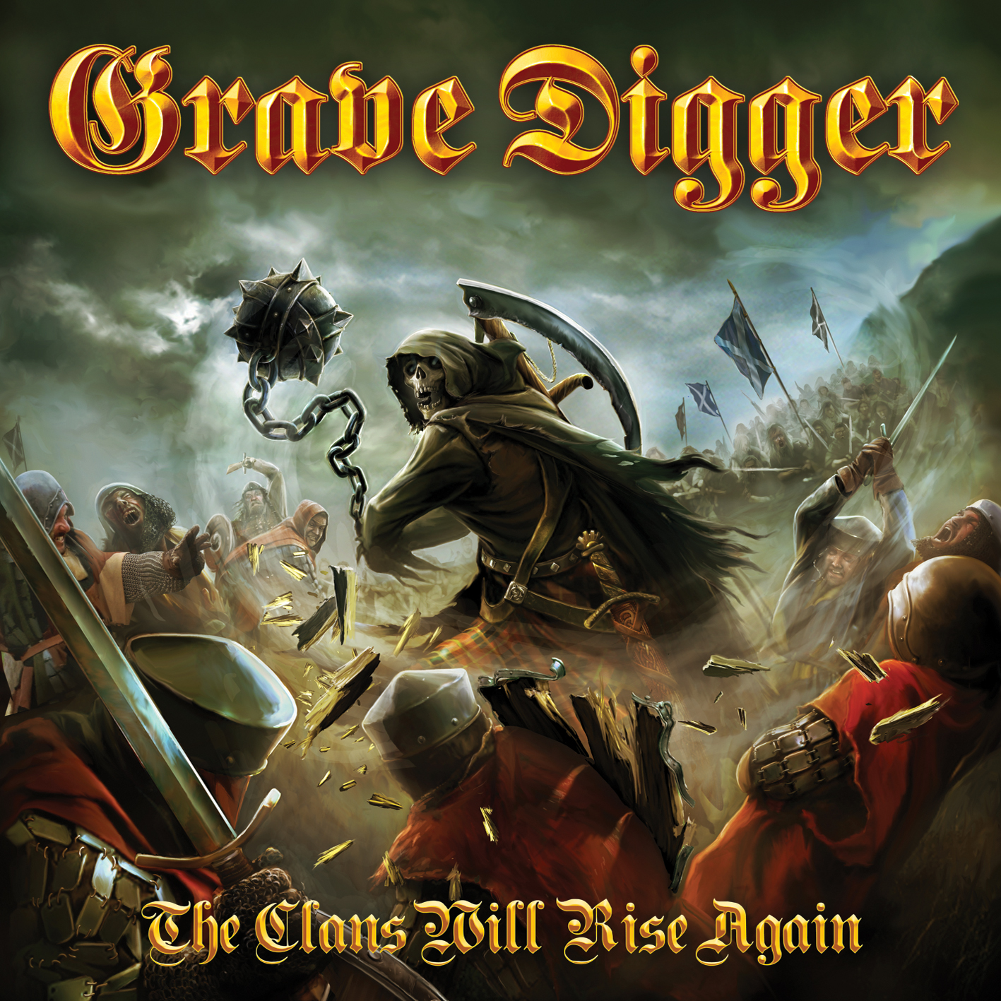Grave Digger, The Clans Will Rise Again, Cover