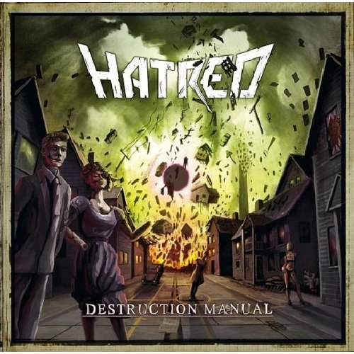 Hatred Destruction Manual Cover