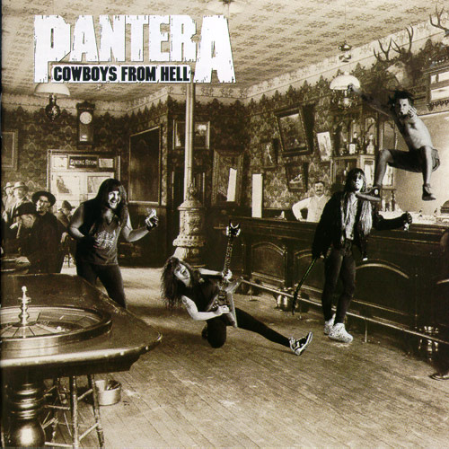 Pantera, Cowboys From Hell, Cover