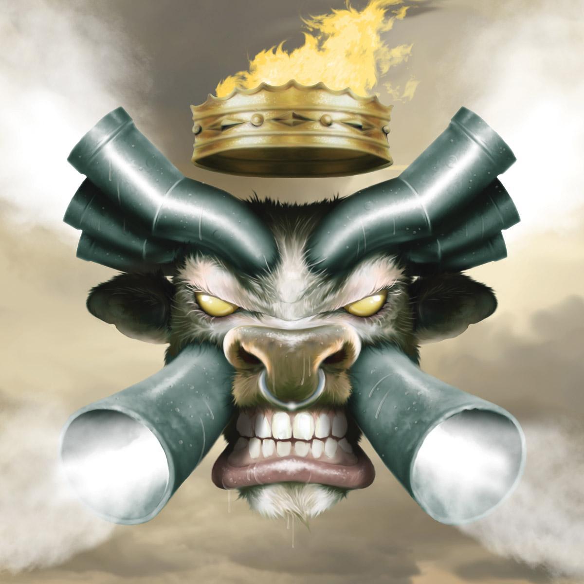 Monster Magnet, Mastermind, Cover