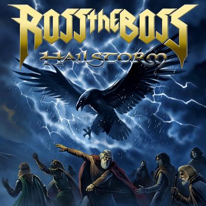 Ross The Boss - Hailstorm CD-Cover