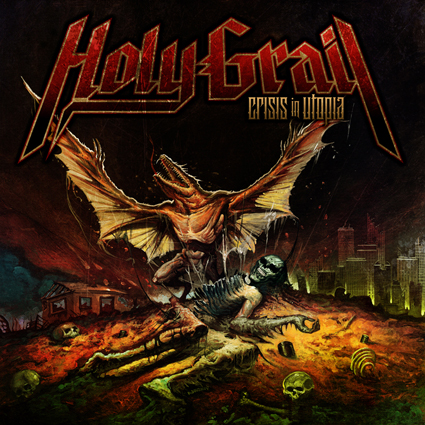 Holy Grail - Crisis In Utopia CD-Cover