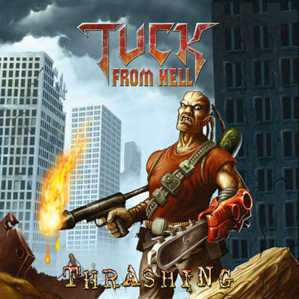 Tuck From Hell - Thrashing CD-Cover