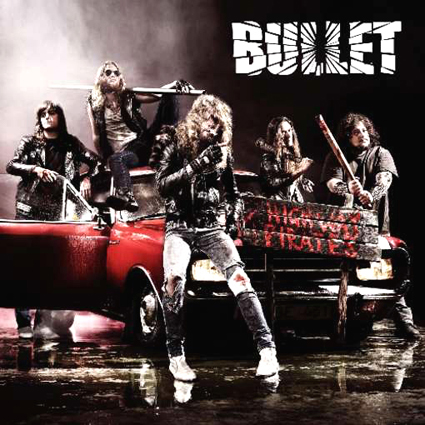 Bullet - Highway Pirates CD-Cover