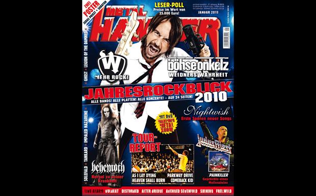 Metal Hammer Januar 2011