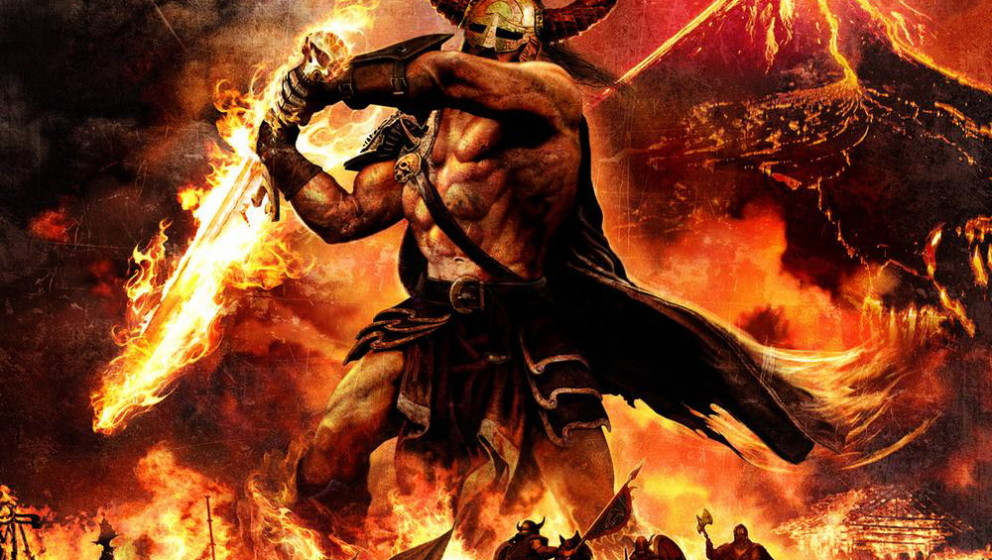 Amon Amarth SURTUR RISING Cover