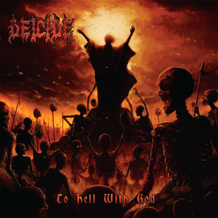 Deicide - To Hell With God CD-Cover