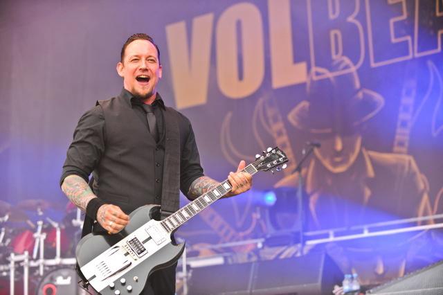 Volbeat, live, Rock am Ring 2011