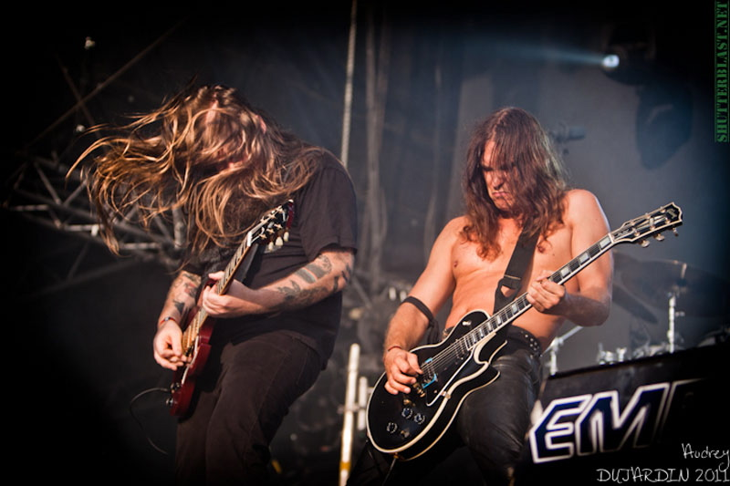 Enslaved, live, Tuska Open Air 2011