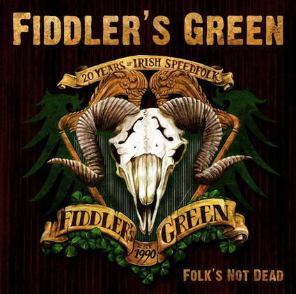 Fiddlers Green Folks Not Dead DVD-Cover