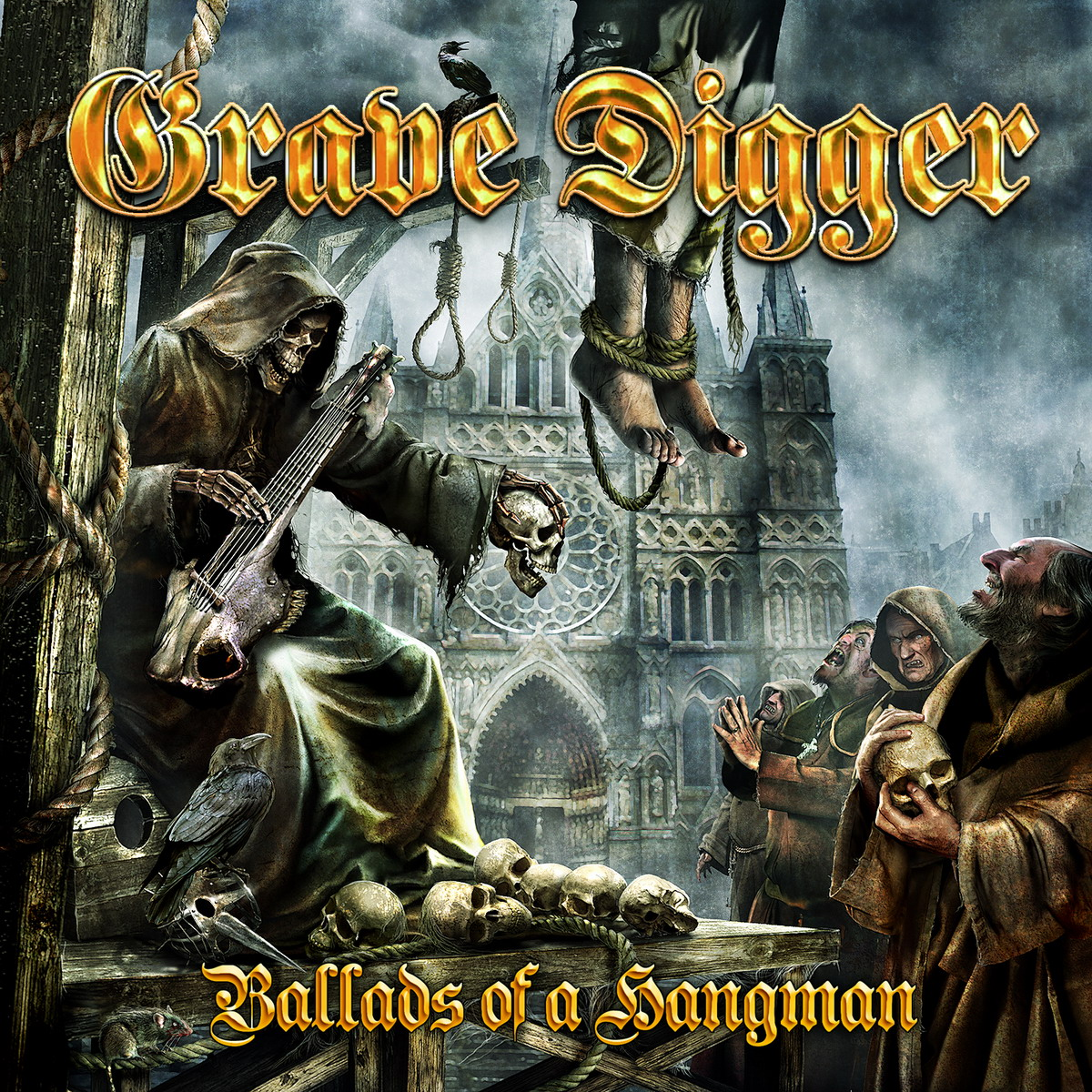 Grave Digger, Ballads Of A Hangman, Cover