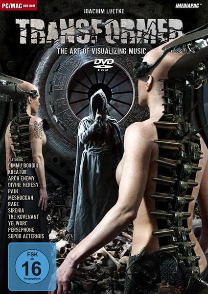 Joachim-Luetke TRANSFORMER DVD-Cover