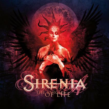 Sirenia - The Enigma Of Life CD-Cover