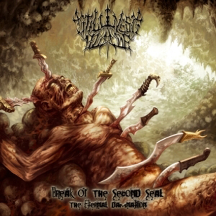 Stillness Blade - Break Of The Second Seal CD-Cover