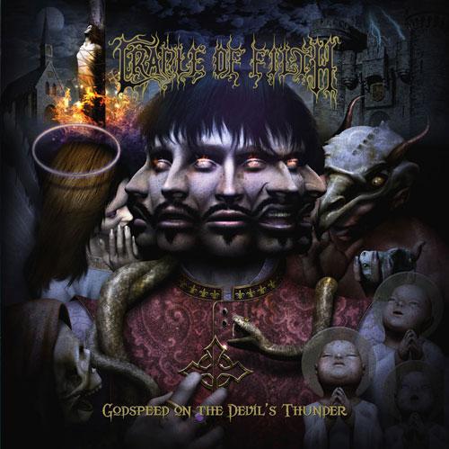 Cradle Of Filth, Godspeed On The Devil's Thunder, Cover