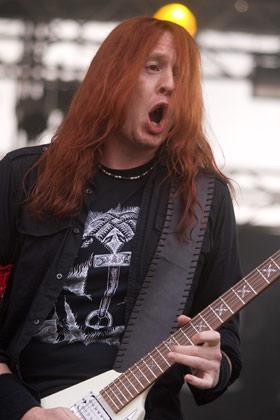 Michael Amott mit Arch Enemy live, Summer Breeze 2008